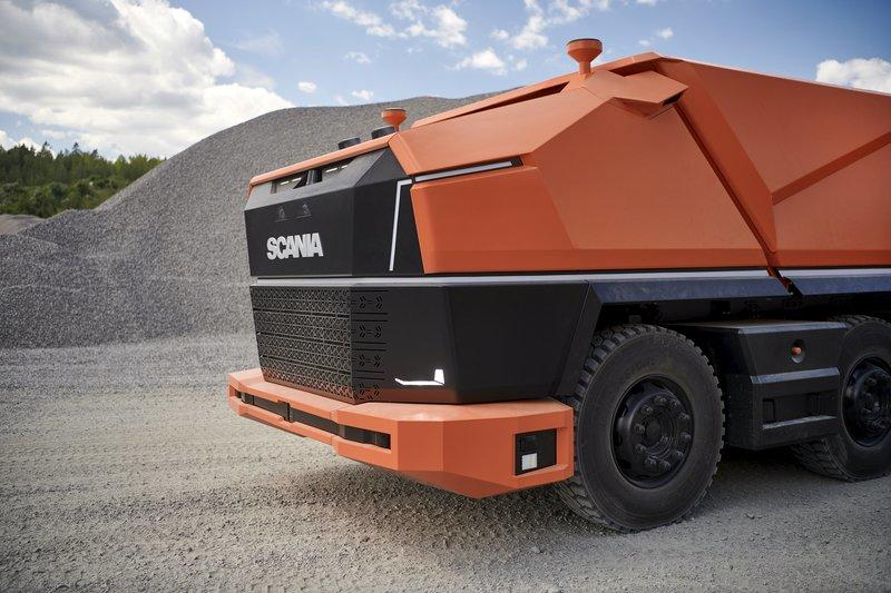 This Cabless Truck Concept From Scania Is Just Weird