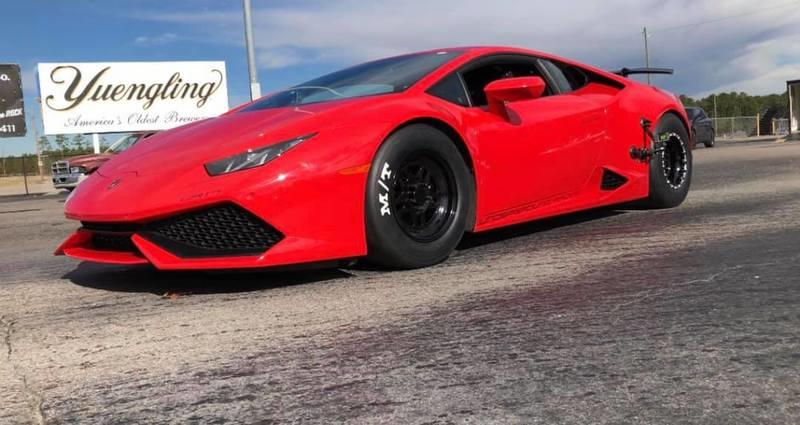 Watch a Lamborghini Huracan Nail 200 MPH in Seven Seconds Flat