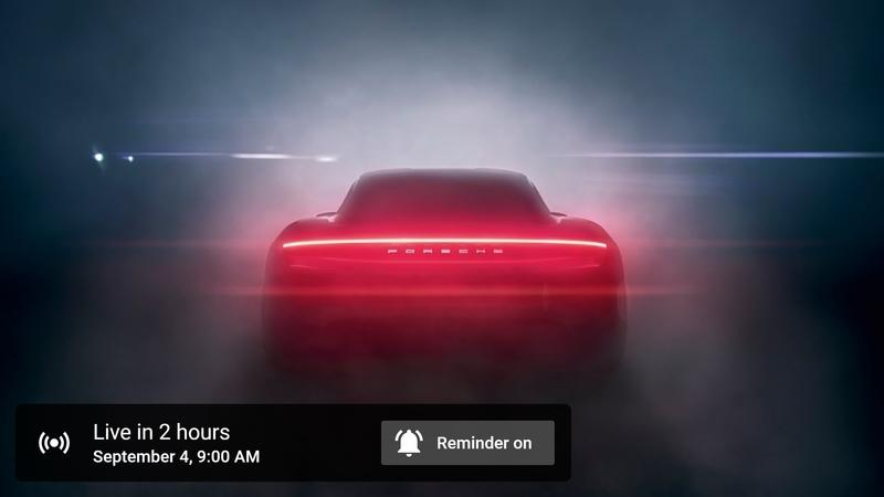 Watch the Live Reveal of the 2020 Porsche Taycan EV Right Here!