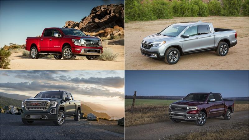 2019 Safest Large Pickup Trucks