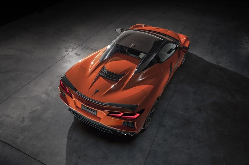 Chevrolet's Open-Top 2020 Corvette C8 Weighs 77 Pounds More Than The Coupe