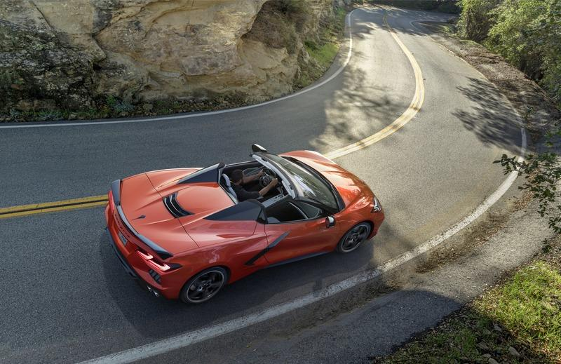 The Chevrolet C8 Corvette Convertible Has Been Delayed Until 2021 Exterior - image 864735