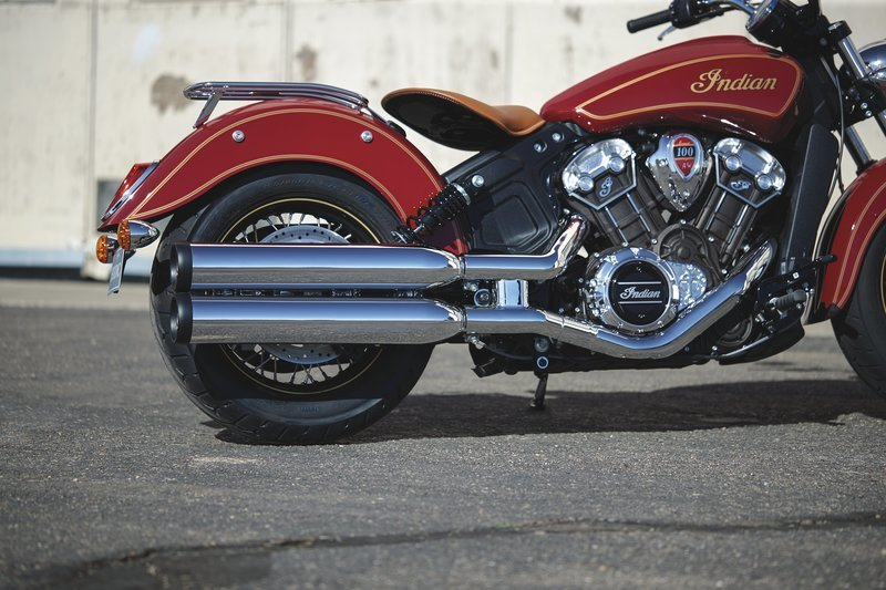 2020 Indian Scout 100th Anniversary Edition - image 866639