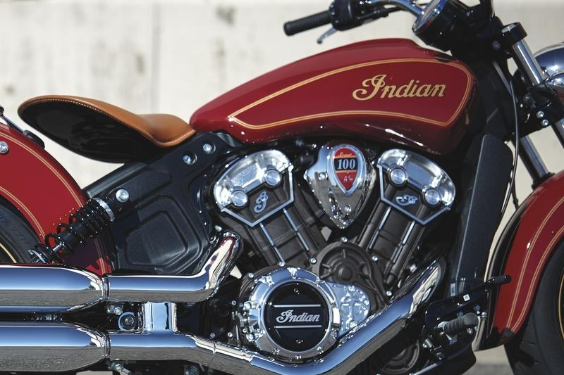 2020 Indian Scout 100th Anniversary Edition