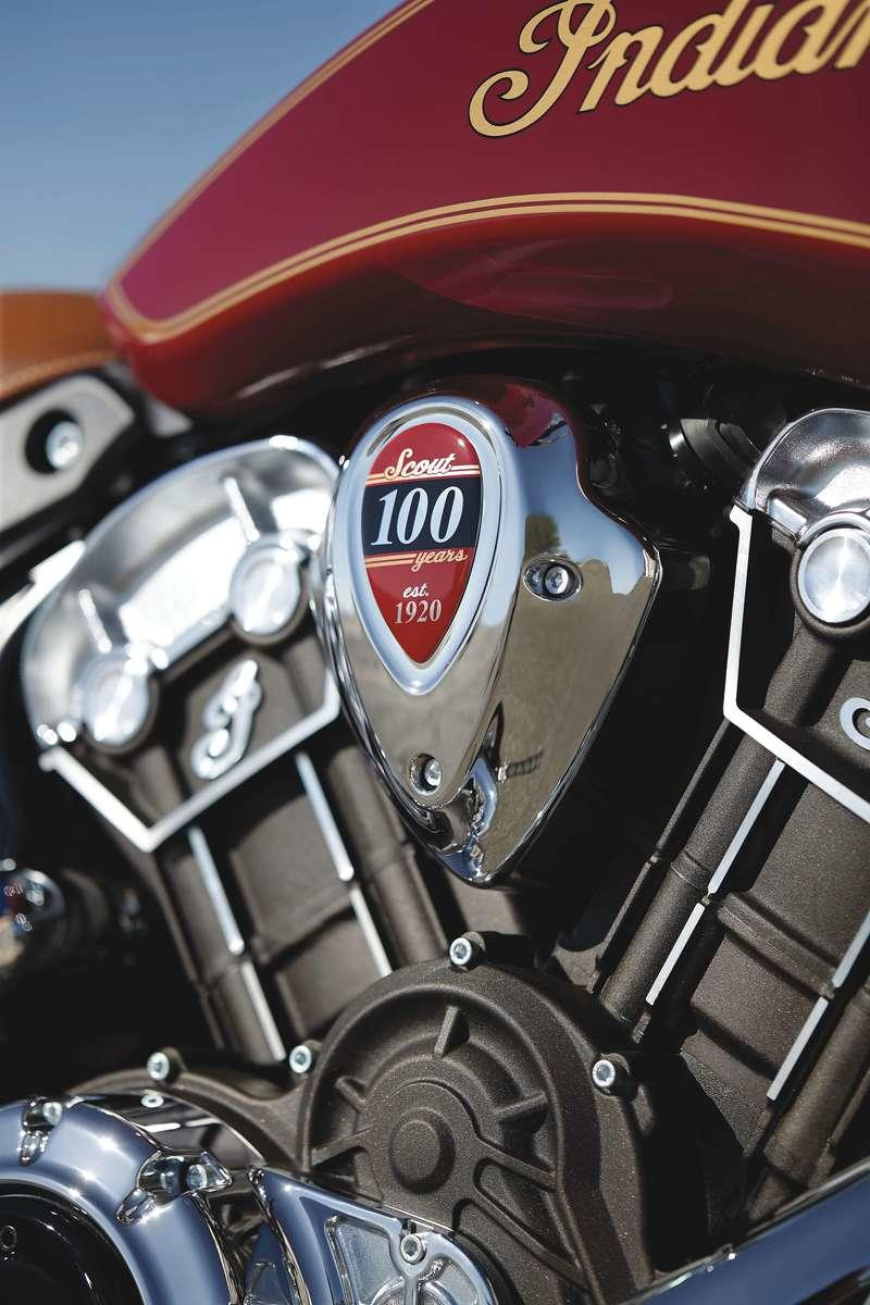 2020 Indian Scout 100th Anniversary Edition - image 866643