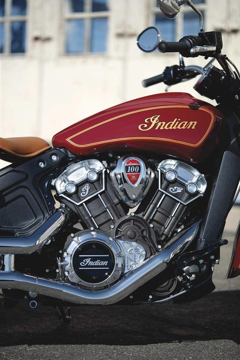 2020 Indian Scout 100th Anniversary Edition - image 866645