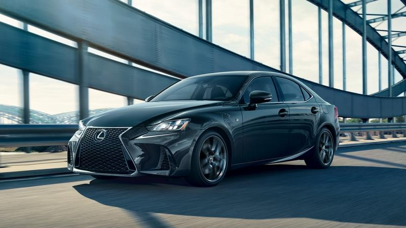 2020 Lexus IS F Sport Blackline Edition