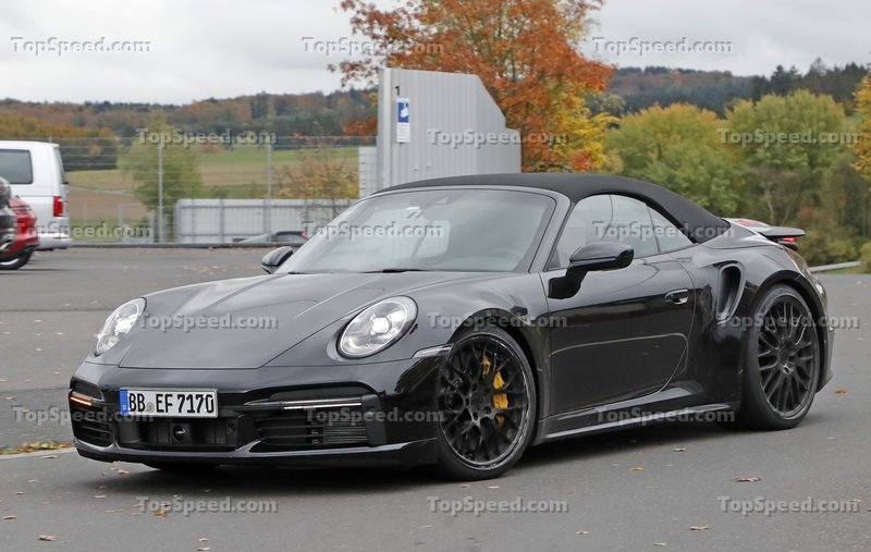 2020 Porsche 911 Turbo Convertible