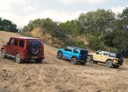 A Suzuki Jimny Takes on the Mercedes G-Class and Jeep Wrangler - Who Wins? - image 867515
