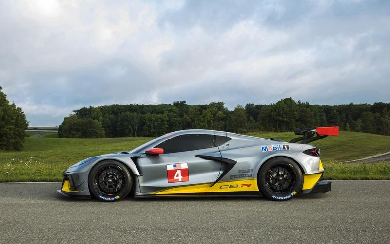 The Corvette C8.R Isn't The First Mid-Engined Racer With That Logo On The Hood