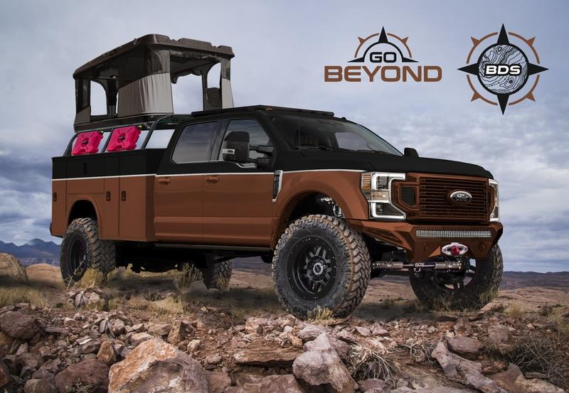 Following the Ranger-Rave, Ford Has Now Announced a Custom Super Duty 2019 SEMA Lineup