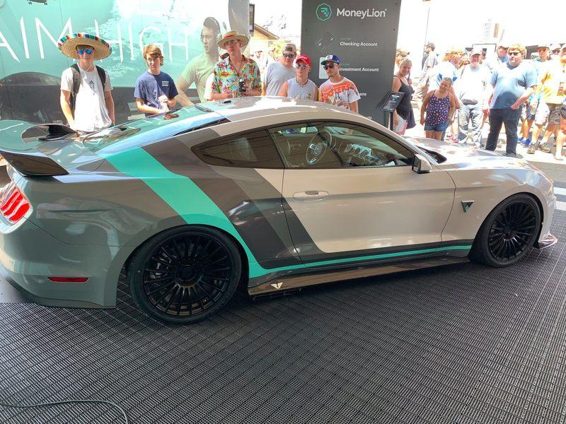 2019 Ford Mustang by Austin Cindric and Tucci Hot Rods
