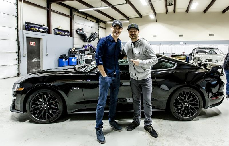 2019 Ford Mustang by Joey Logano and Vaughn Gittin Jr.