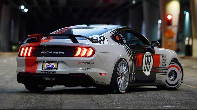 2019 Ford Mustang by Ryan Blaney and David Chen