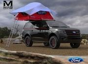 Ford's SEMA-Bound SUV Lineup Will Feature Portable Fridges, Camping Tents, and Video Cameras - image 867264