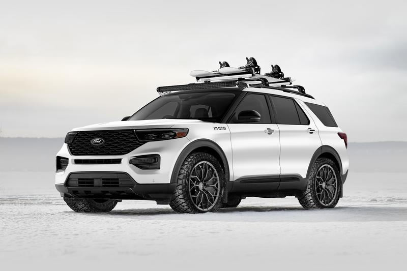 Ford's SEMA-Bound SUV Lineup Will Feature Portable Fridges, Camping Tents, and Video Cameras