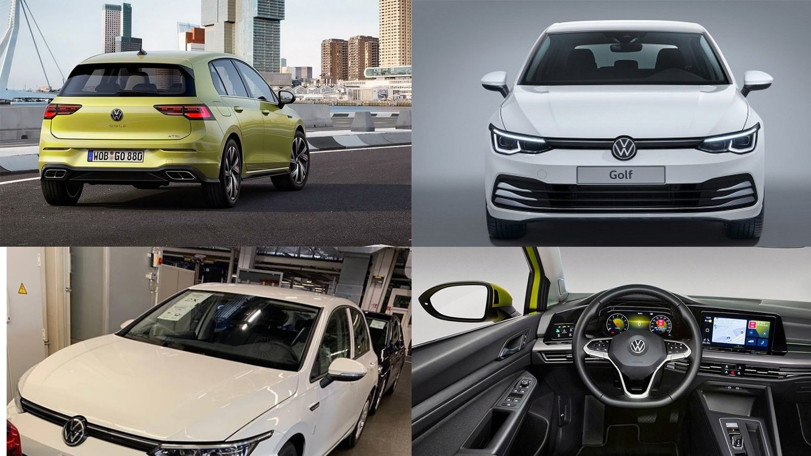 Here S The 2020 Volkswagen Golf Mk8 Before You Re Supposed