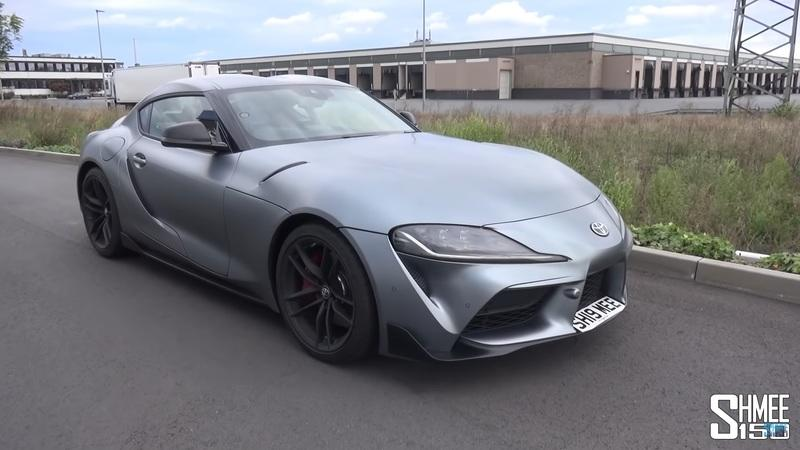 How Fast Can Shmee Go On The Autobahn in His 2020 Toyota Supra?