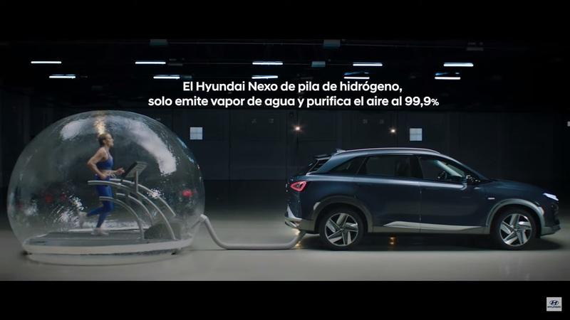 Hyundai Gas Chambered an Olympic Athlete to Prove Hydrogen Cars are Better for the Environment