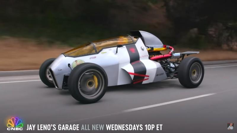 Jay Leno Drives a Supra-Powered 2 Jet Z And It's Cooler Than You Imagine
