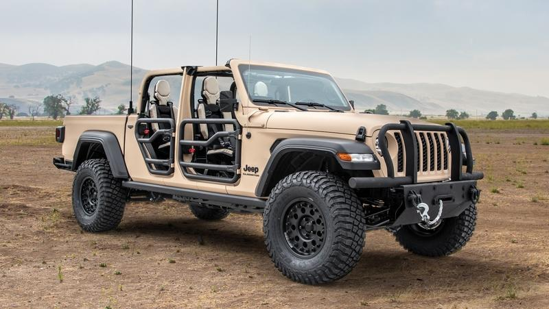 Jeep's Return to Military Service Could Go Through The Gladiator Pickup - image 866672