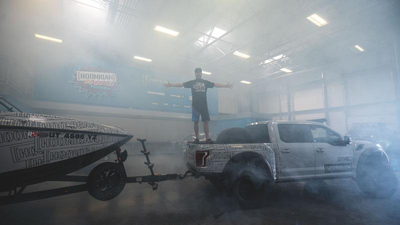 Ken Block Has a Supra That's Powered By a Ford Raptor Engine But It Doesn't Have Wheels - image 864767