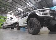 Ken Block Has a Supra That's Powered By a Ford Raptor Engine But It Doesn't Have Wheels - image 864774