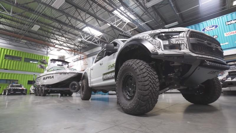 Ken Block Has a Supra That's Powered By a Ford Raptor Engine But It Doesn't Have Wheels