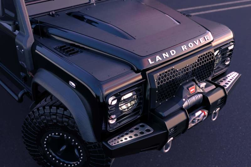 2019 Land Rover Defender 6x6 Black Mamba by Classic Overland