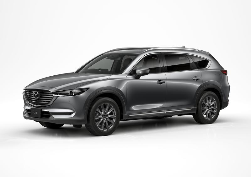 Mazda Debuts Updated CX-8 at Tokyo Motor Show; Still Not Coming to the U.S.