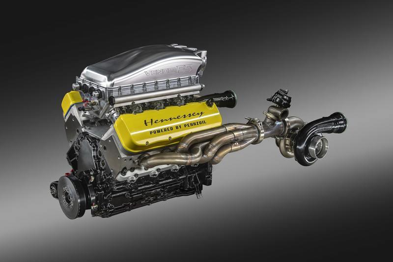 "Meet ""Fury"" - the 1,800-Horsepower Engine That Growls Inside the Hennessey Venom F5"