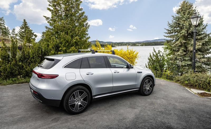 Mercedes-Benz Doesn't Want EQC Customers to Be Couch Potatoes