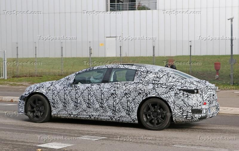 The Mercedes EQS Will, In fact, Get AMG Tuning Comparable to that of an AMG S65 Exterior Spyshots - image 868840