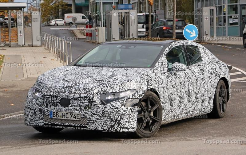 The Mercedes EQS Will, In fact, Get AMG Tuning Comparable to that of an AMG S65 Exterior Spyshots - image 868836