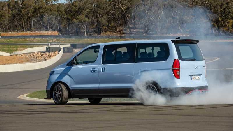 Only Australians Would Build a Hyundai IMax N Drift Van, But We're So Glad They Did