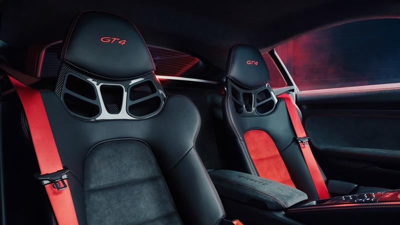 2020 Porsche 718 Cayman GT4 Sports Cup Edition Interior - image 866348