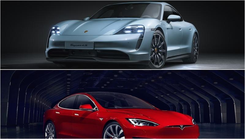 Porsche Taycan vs. Tesla Model S