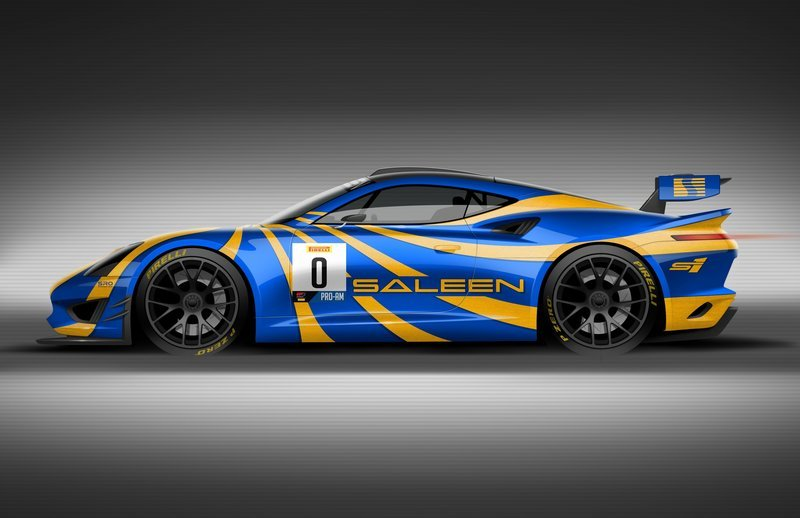 2020 Saleen GT4 Concept Race Car