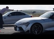 Since We Can't Get Enough of Toyota-BMW Races, Here's Another One Featuring The Toyota Supra Taking on The BMW M2 Competition - image 865084