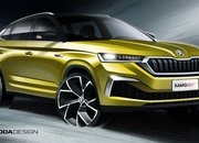 Skoda Previews Kamiq GT with Coupe-style roof and aggressive front end - image 868036