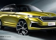 Skoda Previews Kamiq GT with Coupe-style roof and aggressive front end - image 868035