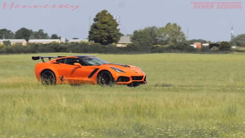 The Hennessey C7 Corvette ZR1 HPE 1200 Can Kick the Hell Out of a McLaren 720S