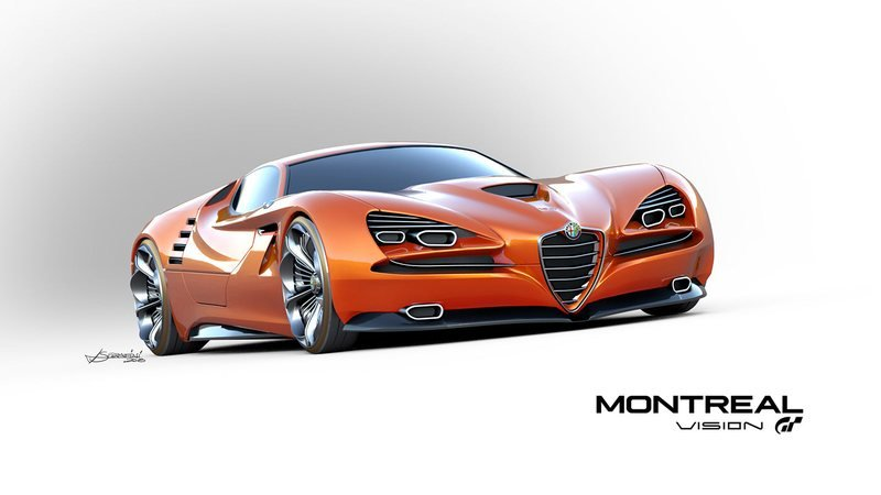 The Montreal Vision GT - a Car Alfa Romeo Needs to Build