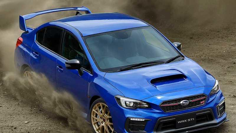 2020 Subaru WRX STI EJ20 Final Edition