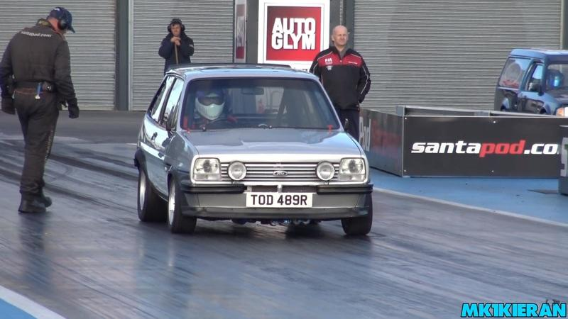 Watch a Subaru-Powered 70s-Era Ford Fiesta Run a 9-Second Quarter Mile!