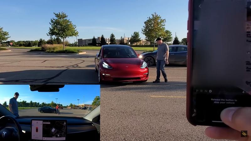 Who's Responsible If a Tesla On Smart Summon Hits You or Your Car?