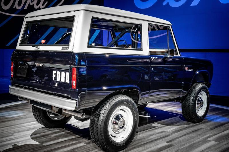 1968 Ford Bronco Wagon by Jay Leno, Ford Performance, LGE-CTS, and SEMA Garage Exterior - image 870113