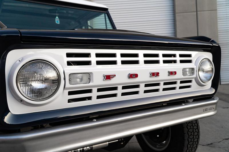 1968 Ford Bronco Wagon by Jay Leno, Ford Performance, LGE-CTS, and SEMA Garage
