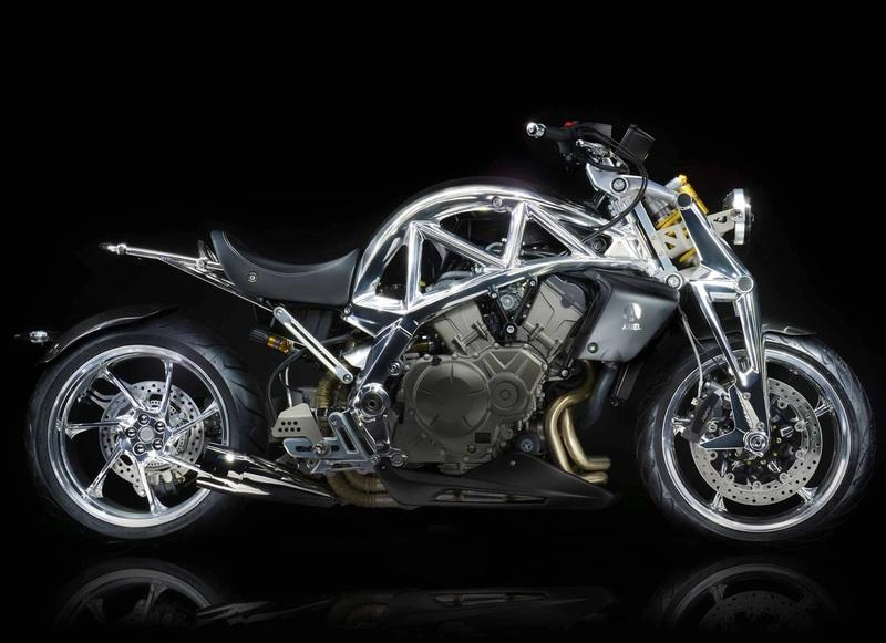 Ariel to showcase a striking new creation: The Ace Iron Horse