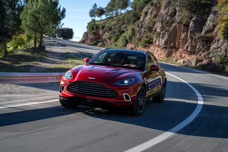 The 2021 Aston Martin DBX Arrives as the Brand's First SUV with a Huracan-Like Price Exterior - image 872446